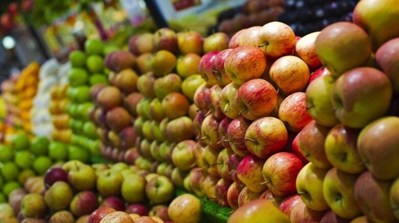 Яблоки рынок