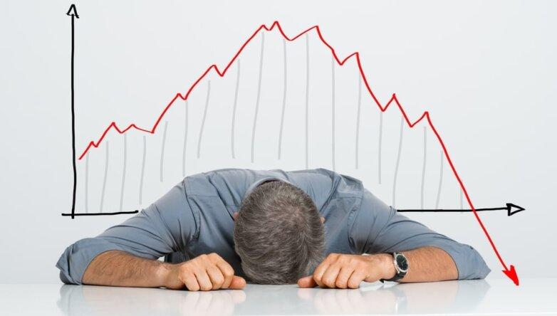 Предприниматель бизнесмен крах банкрот закрытие