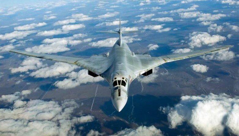Кадр Сверхзвуковой стратегический бомбардировщик-ракетоносец Ту-160
