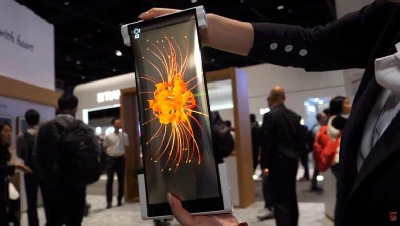 Гибкий экран от китайской фирмы BOE