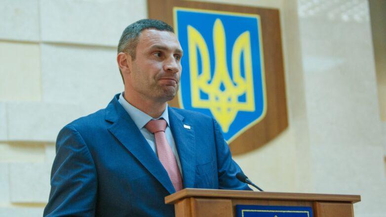Виталий Кличко трибуна