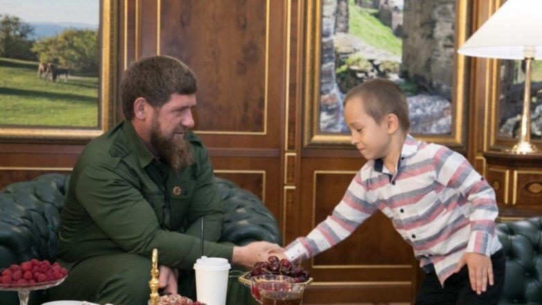 Рамзан Кадыров и Магомед-Эми