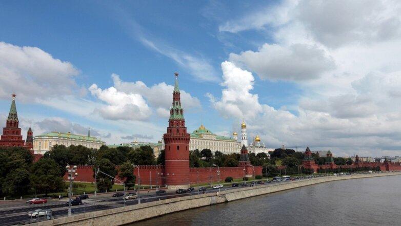 Город Москва Кремль погода лето