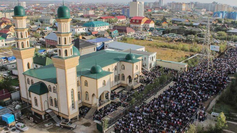 мусульманский праздник Курбан-байрам 穆斯林节日