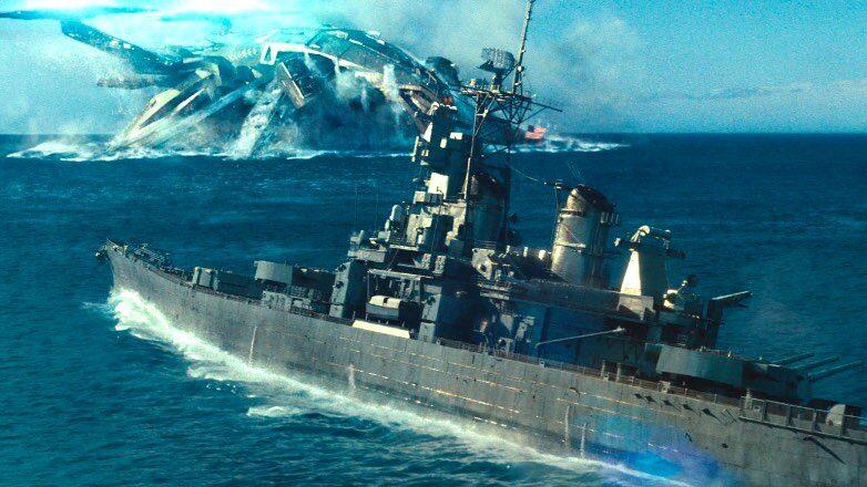 """кадр из фильма """"морской бой"""""""