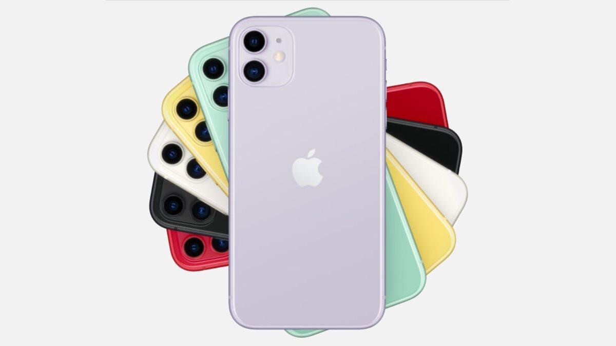 Apple iPhone 11 разноцветные