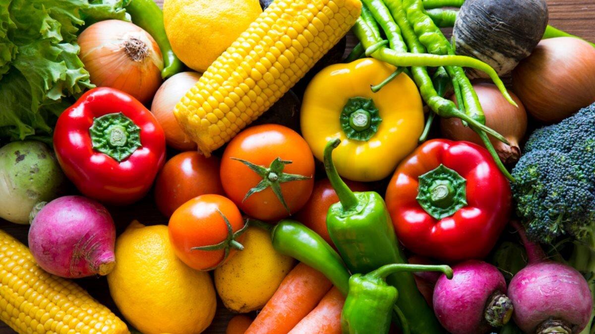 овощи томаты кукуруза капуста редис морковь
