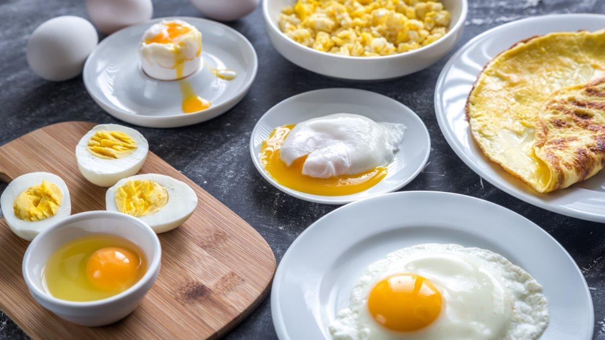 Яйца яичница омлет холестерин протеин