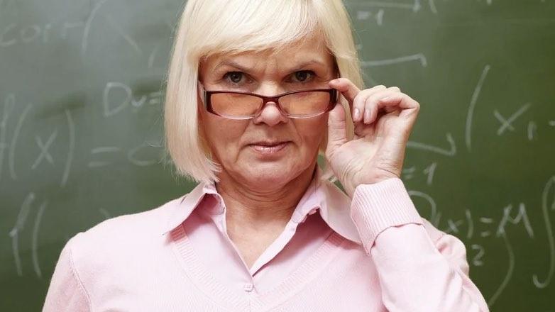 учительница в классе