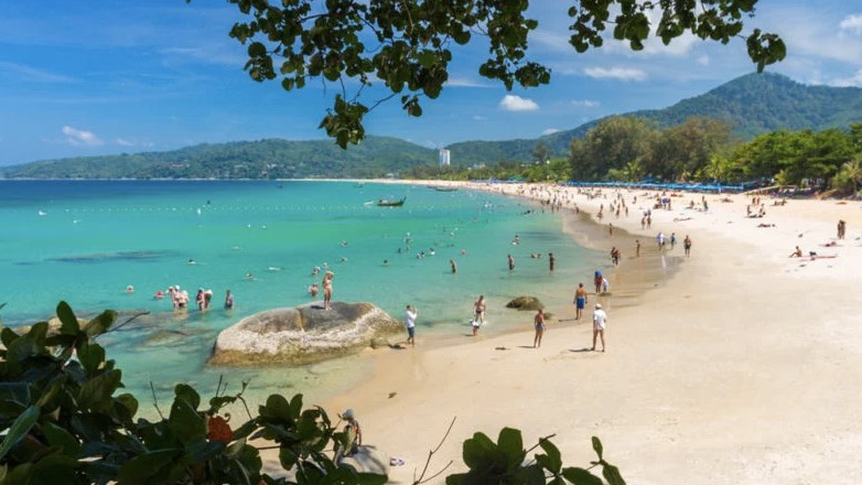 пляж Karon Beach Пхукет