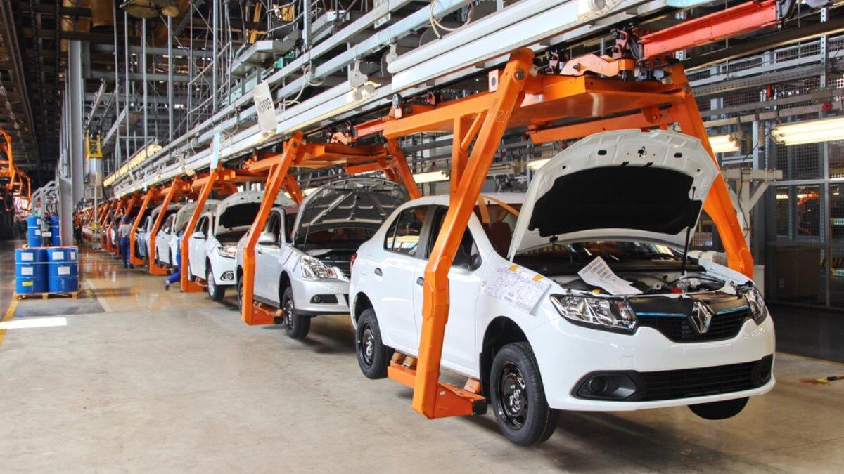 Завод АвтоВАЗ в Тольятти Сборка автомобилей Lada