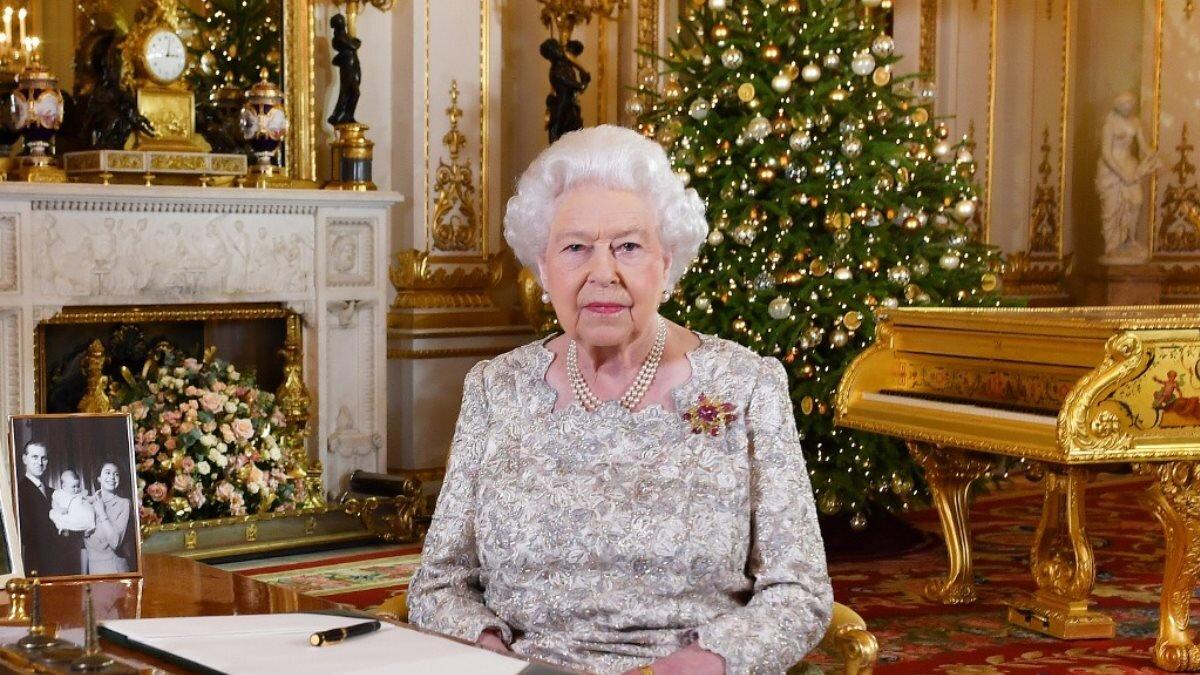 Королева Великобритании Елизавета II Рождество один