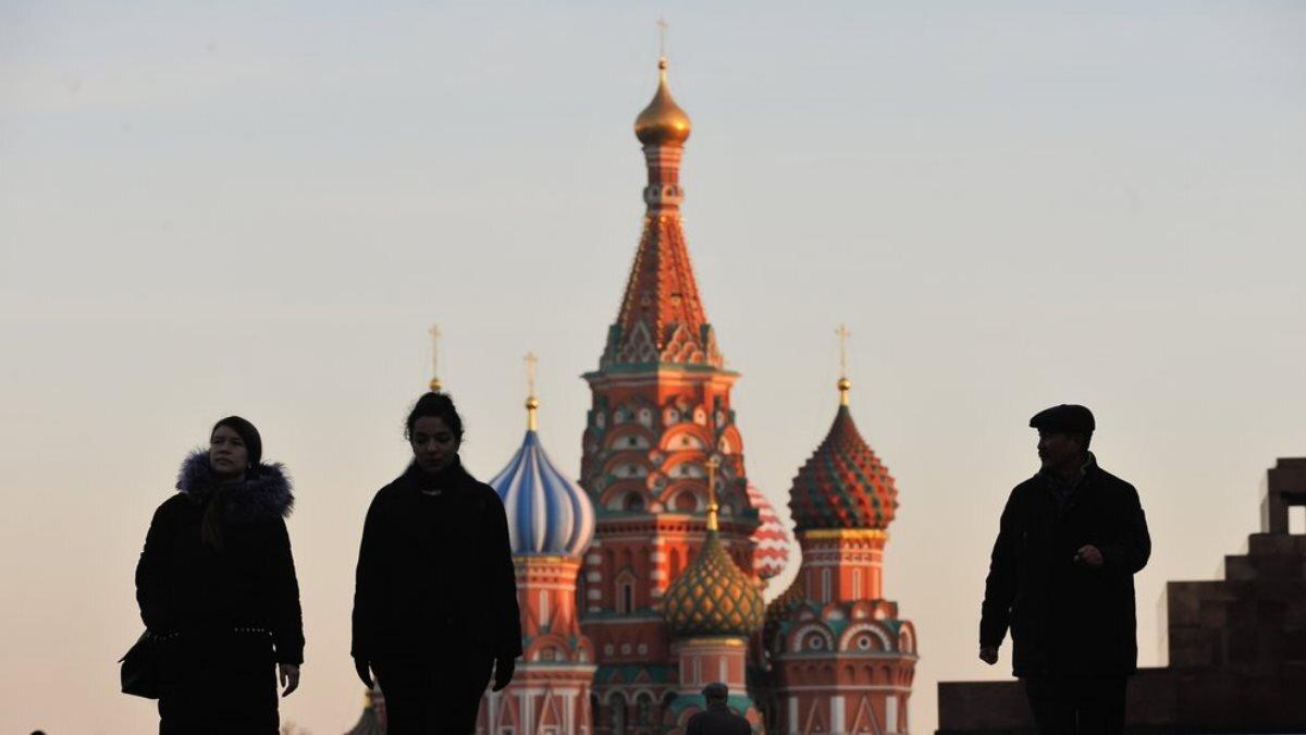 Прохладная погода Москва