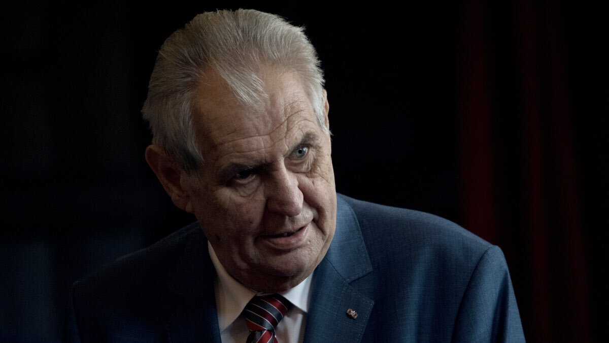 Милош Земан, президент Чехии