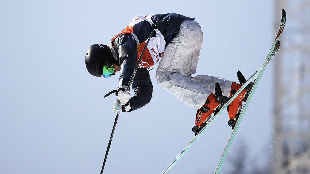 Лыжница Валерия Демидова
