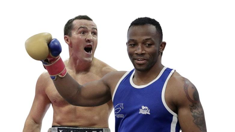 боксеры Лебедев и Мчуну