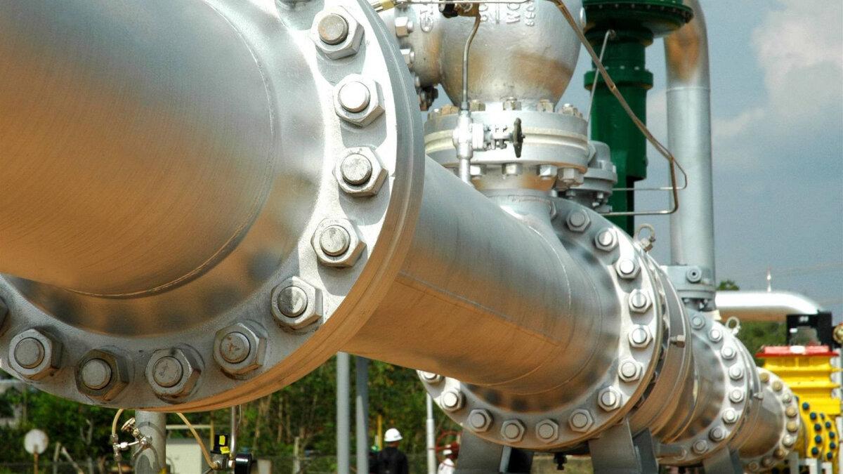 газовые трубы транзит