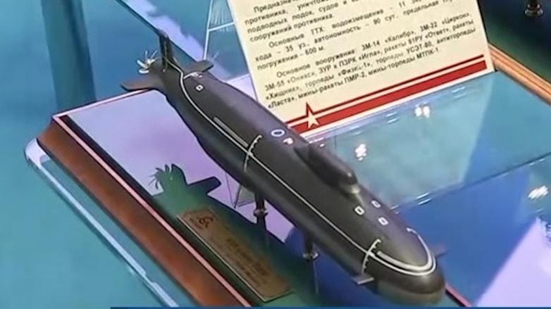 модель крейсера пятого поколения проекта 545 Лайка-ВМФ