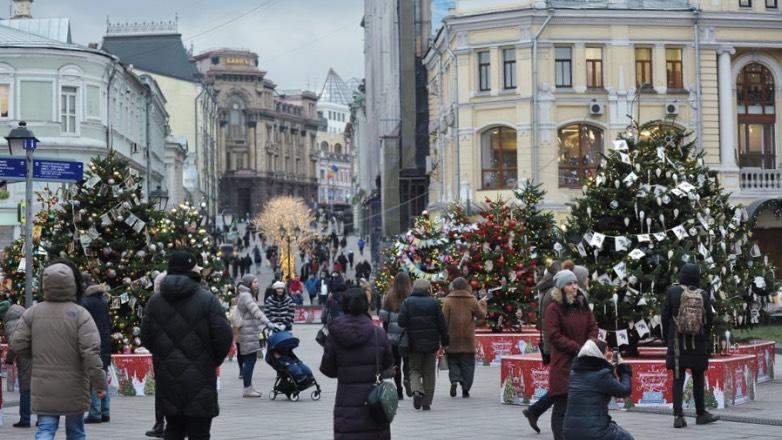 москва новый год путешествие в рождество