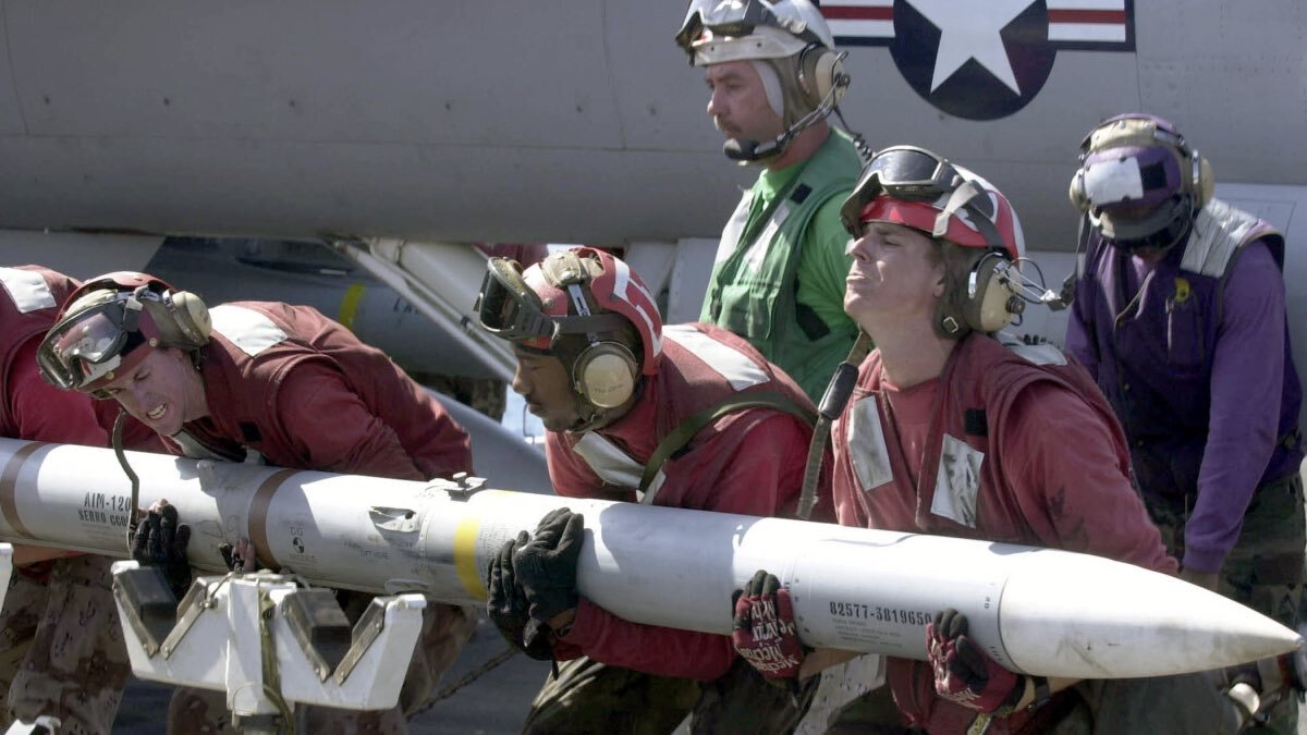 ракета Raytheon AMRAAM