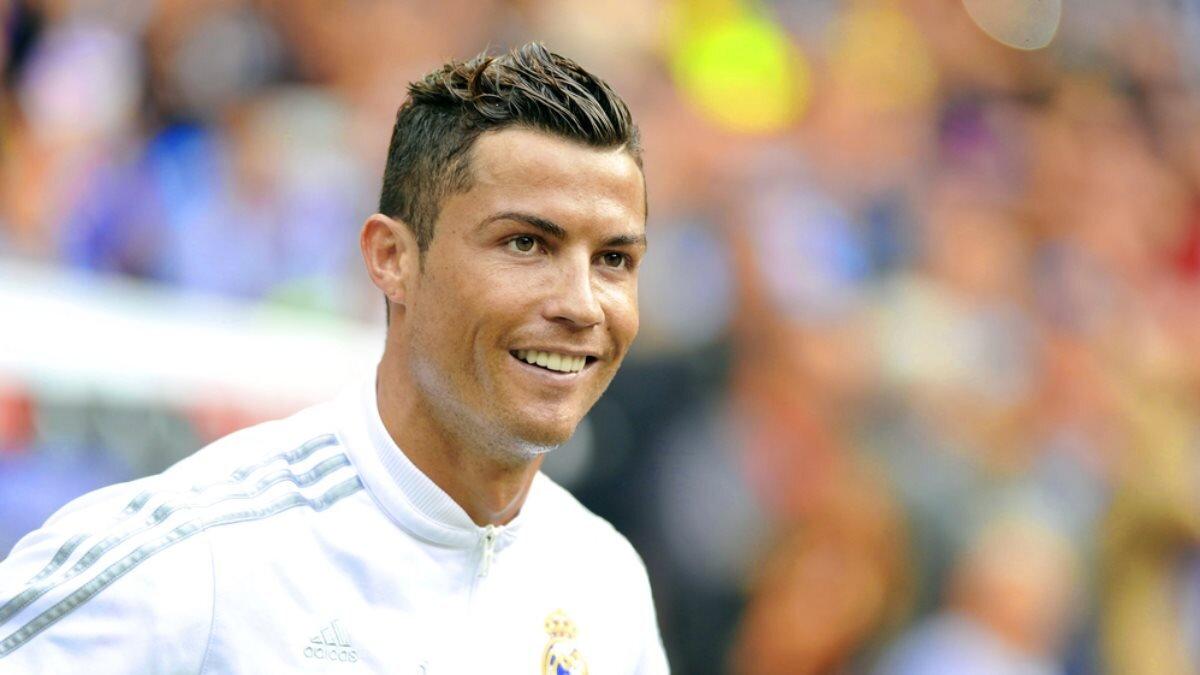 Футболист Криштиану Роналду - Cristiano Ronaldo один