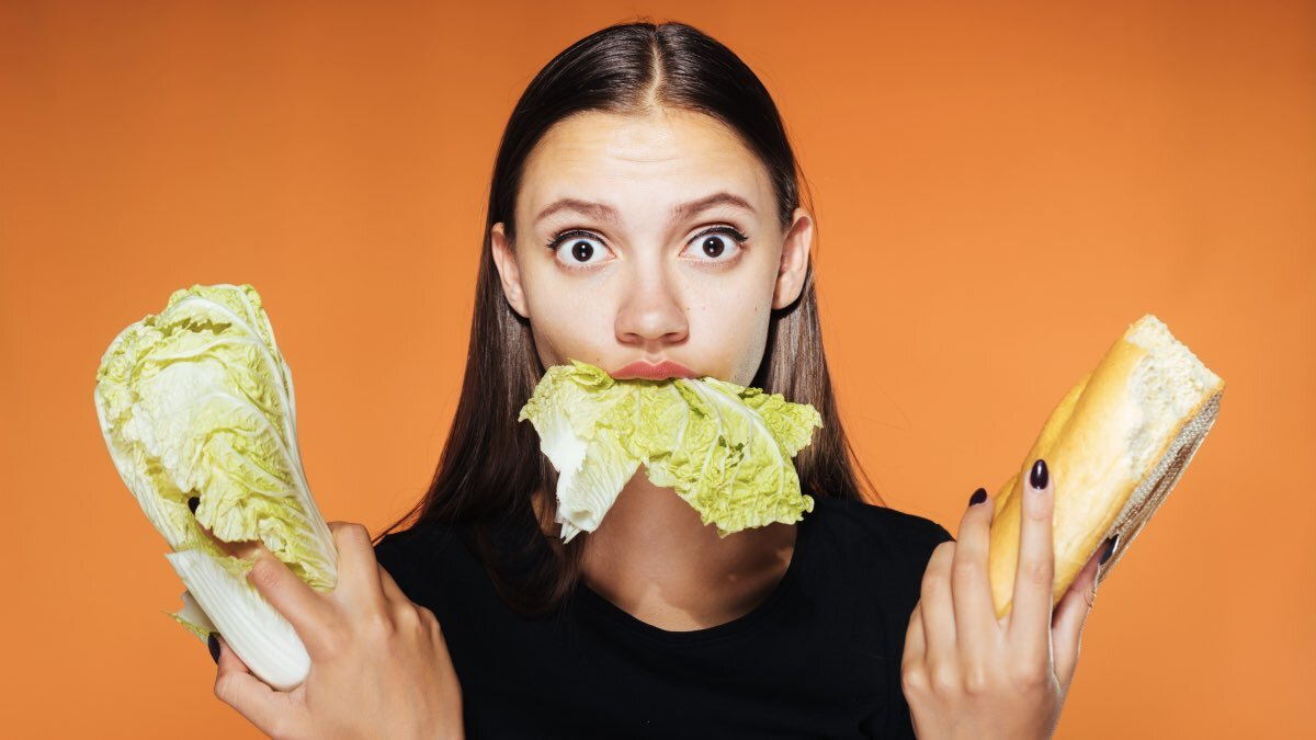 вредная диета