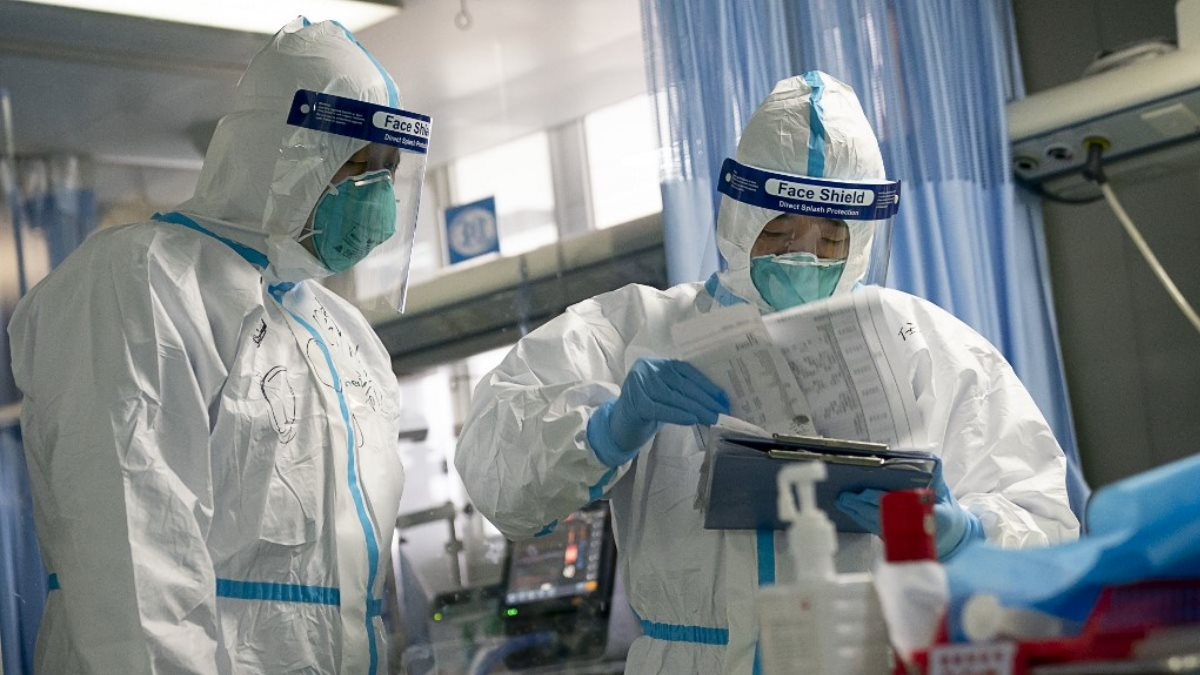 Китай коронавирус эпидемия врачи