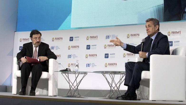 Владимир Мау и Николя Саркози