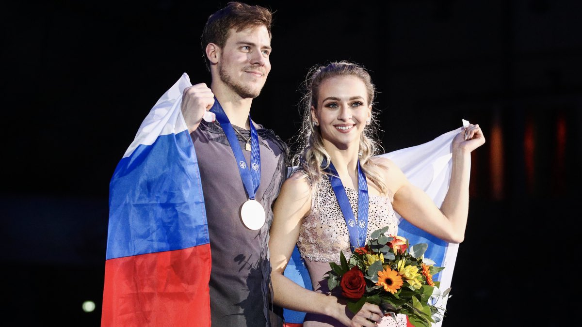 Фигуристы Виктория Синицина и Никита Кацалапов