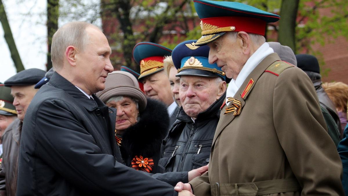 Владимир Путин и ветераны Великой отечественной войны
