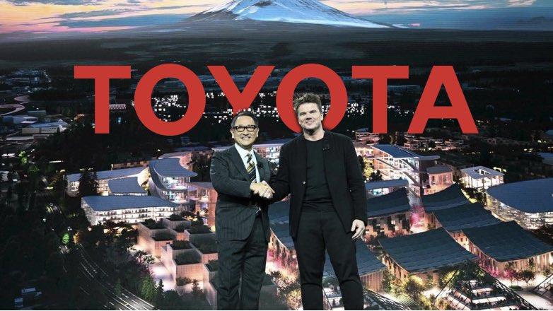 Toyota Город будущего