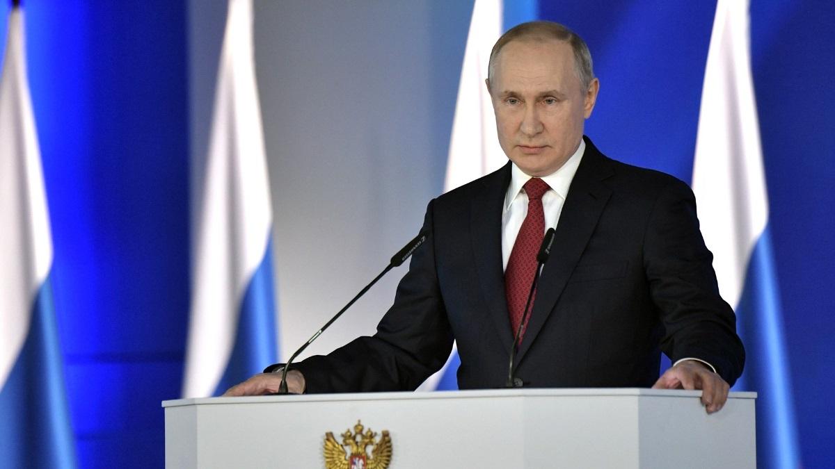 Владимир Путин Послание Федеральному собранию один