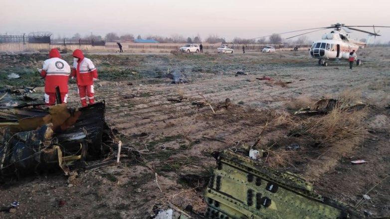 крушение украинского самолета в тегеране твиттер