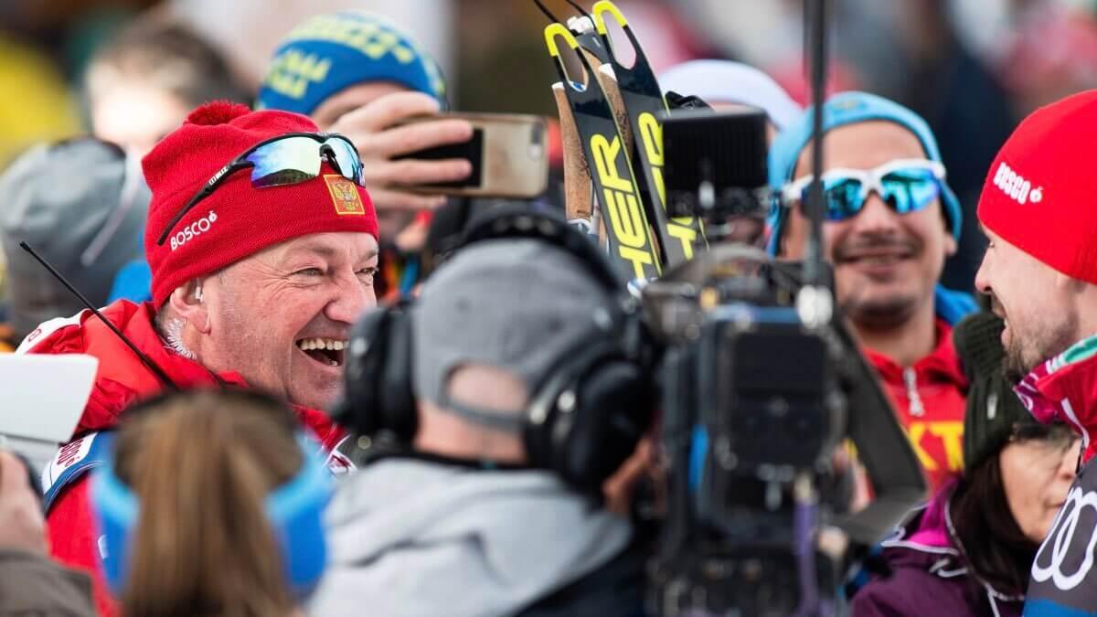 российские лыжники на «Тур де Ски»