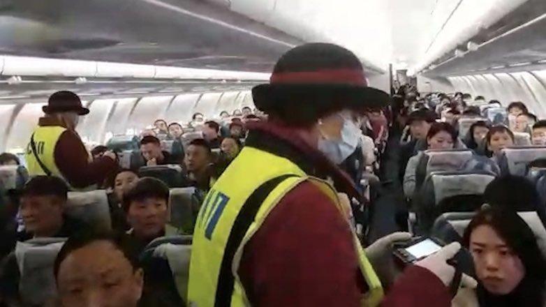 санитарный контроль в самолете