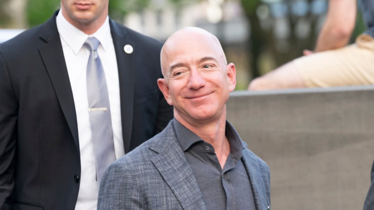 Основатель Amazon Джефф Безос - Jeff Bezos