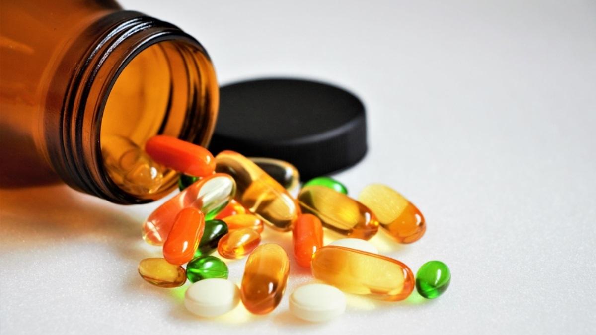 Таблетки витамины БАДы пищевые добавки один