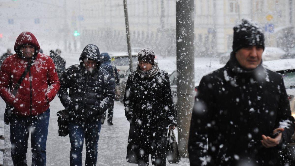 Погода снегопад улица четыре