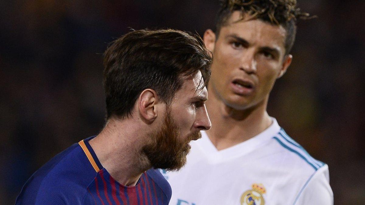 Футболисты Лионель Месси и Криштиану Роналду - Lionel Messi Cristiano Ronaldo