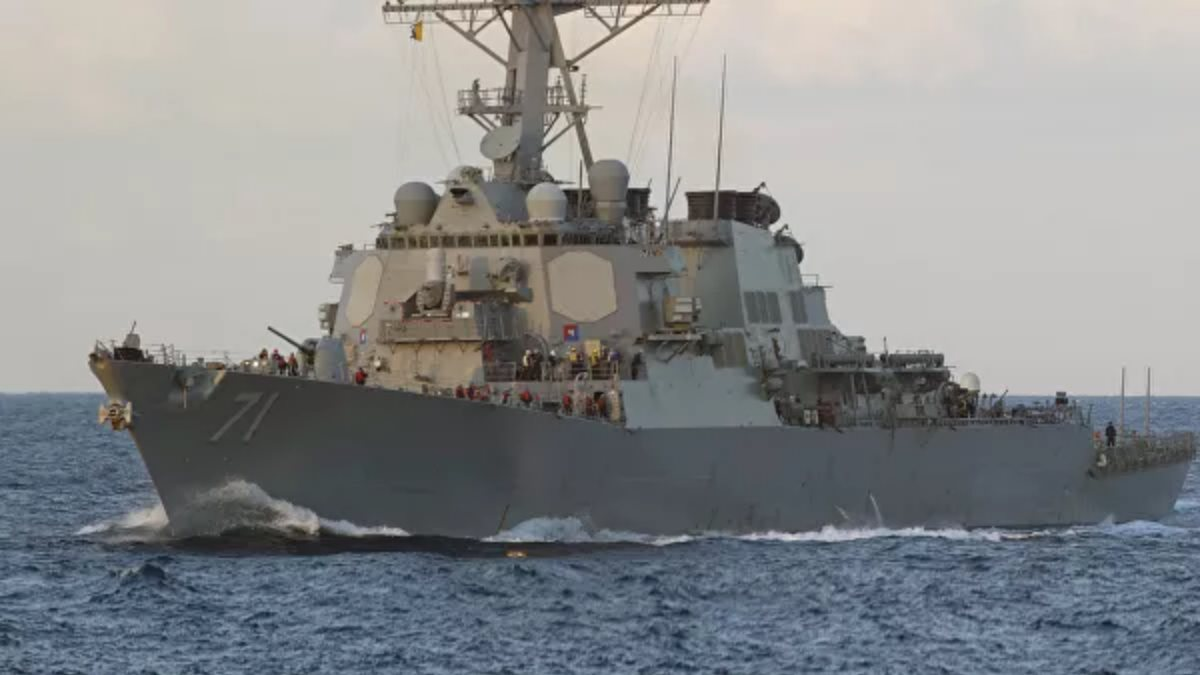 Американский эсминец Росс