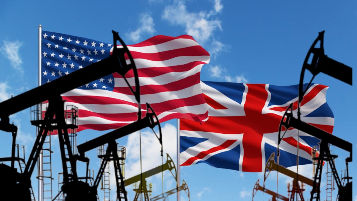 Америка Великобритания нефть