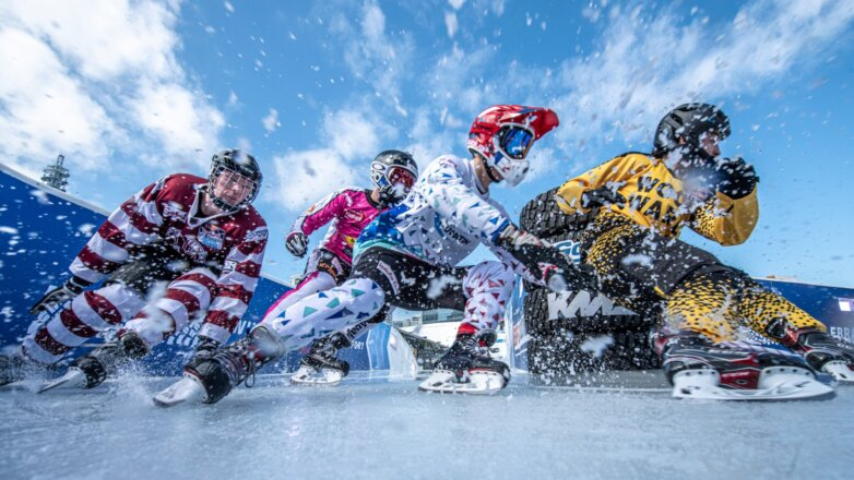 Чемпионат мира Red Bull Ice Cross, 13 февраля 2020 Иокогама, Япония