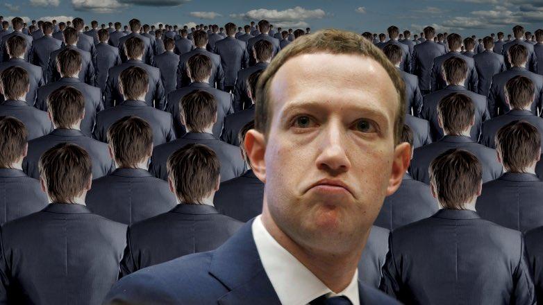 Цукерберг и толпа