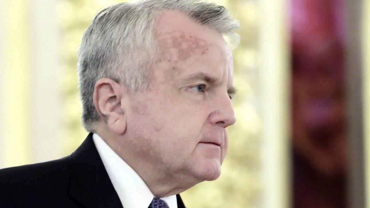 Чрезвычайный и полномочный посол США в РФ Джон Джозеф Салливан