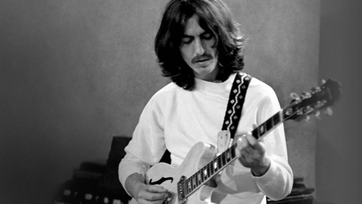 Музыкант и участник группы The Beatles Джордж Харрисон - George Harrison