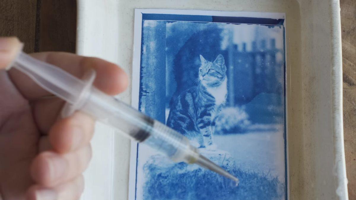 Изготовление отпечатков 120-летних негативов из капсулы времени