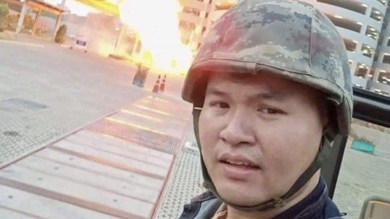 Предположительно – стрелок из Таиланда Jakrapanth Thomma