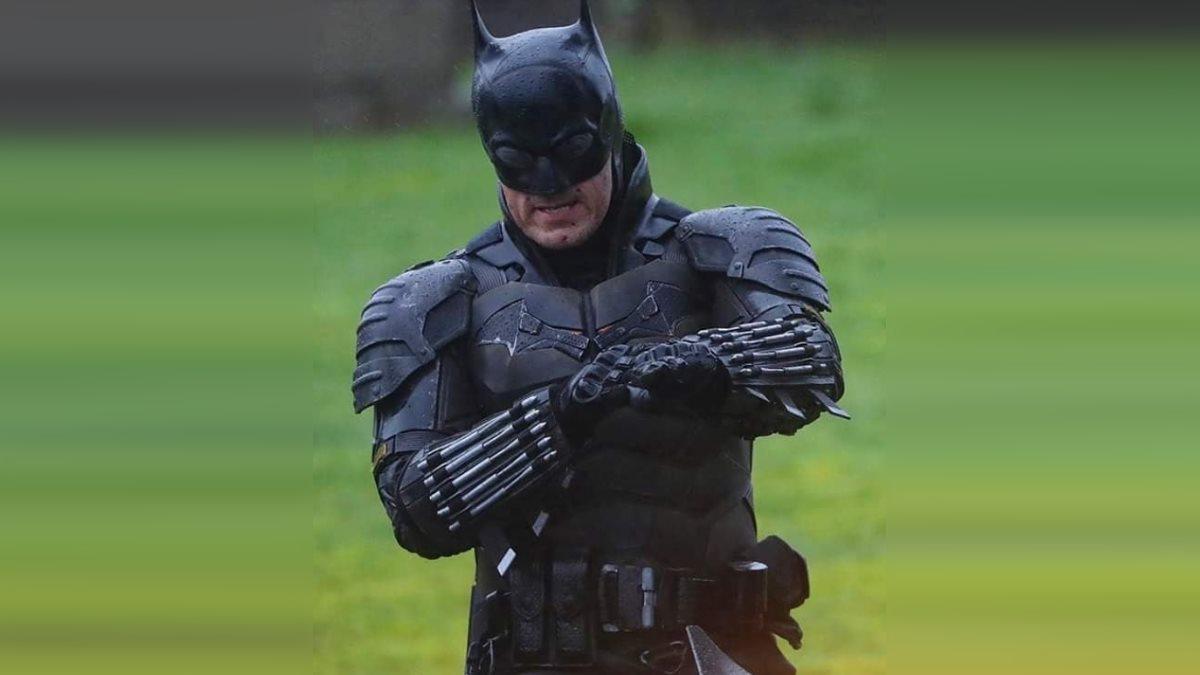 Кадр со съемочной площадки фильма Бэтмен
