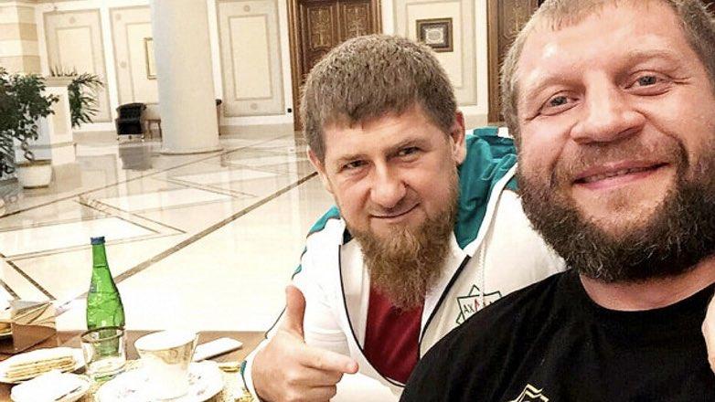 Емельяненко и Рамзан Кадыров