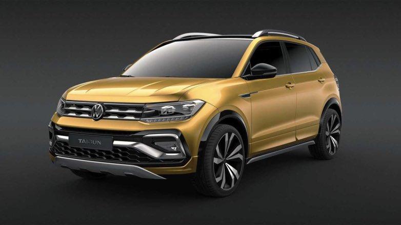 Кроссовер Volkswagen Taigun
